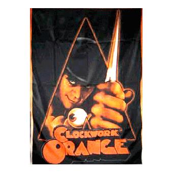 Clockwork Orange (Logo) - Fahne 80x125 cm