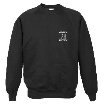 Gegen Hippies (2) - Sweatshirt (klein) (XL) Reduziert