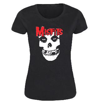Misfits (Skull) - Girly-Shirt