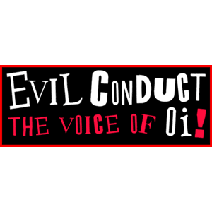 "Evil Conduct ""Voice of Oi!"" Aufnäher / Patch (gestickt)"
