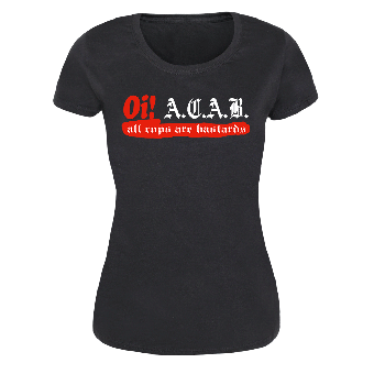 Oi! A.C.A.B. - Girly-Shirt