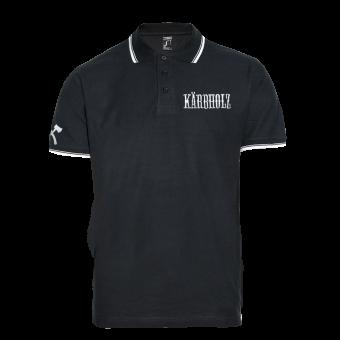 """Kärbholz """"Logo"""" Polo (black)"""