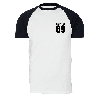 Spirit of 69 - TShirt (weiss/schwarz)