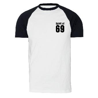 Spirit of 69 - T-Shirt (weiss/schwarz)