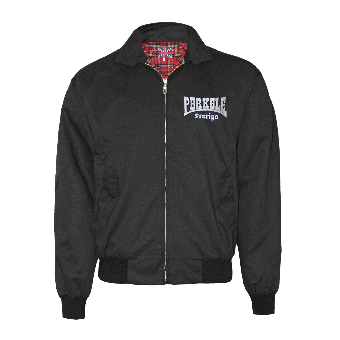 "Perkele ""Sverige"" - Harrington Jacke  (schwarz/black)"