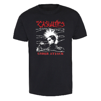 "Casualties,The ""Under Attack"" - TShirt"