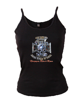 "9mm Assi Rock`n`Roll ""C.K.N."" Girly Trägershirt"