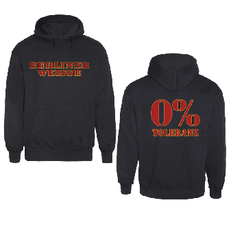 "Berliner Weisse ""0% Toleranz"" Kapu/Hooded"