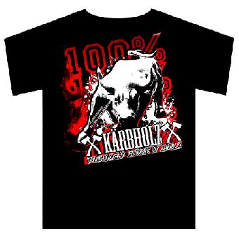 "Kärbholz ""100%"" T-Shirt"