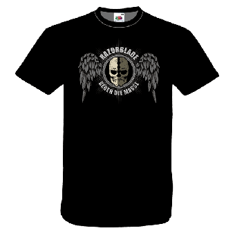 """Razorblade """"Gegen die Masse"""" T-Shirt"""