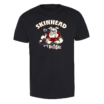 "Skinhead Bulldog ""Very British!"" T-Shirt"