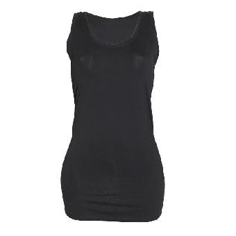 Long Top (Girly) (schwarz/black)