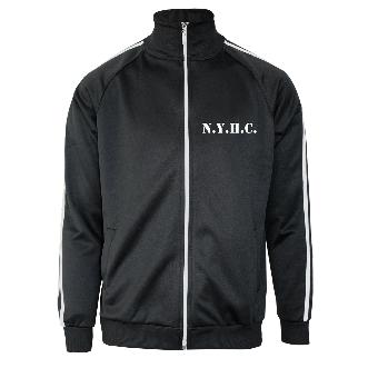 N.Y.H.C. - Trainingsjacke mit Streifen (slimfit)