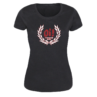 Oi! if the Kids are united (Ehrenkranz) Girly Shirt