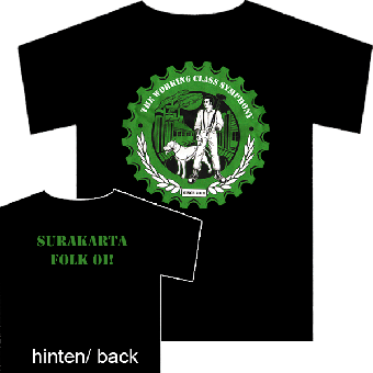 "Working Class Symphony,The ""Surakarta Folk Oi!"" T-Shirt (reduziert)"