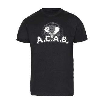"A.C.A.B ""Fight the real enemy"" T-Shirt"