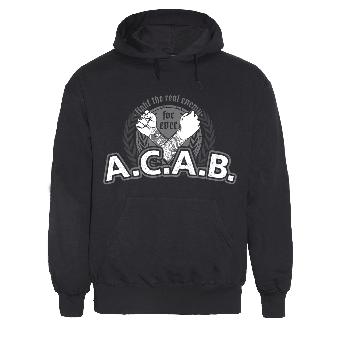 """A.C.A.B """"Fight the real enemy"""" Kapu"""