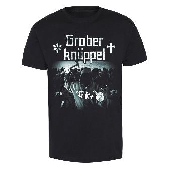 """Grober Knüppel """"Angepisster Deutscher Albtraum"""" T-Shirt"""