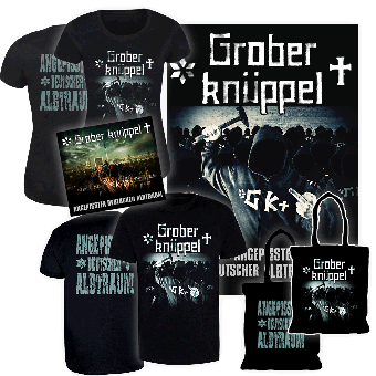 "Grober Knüppel ""Angepisster deutscher Albtraum"" CD/Girly Bundle (lim. 100)"