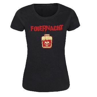 """Foiernacht """"... mit meinem Blut geschrieben"""" Girly Shirt"""