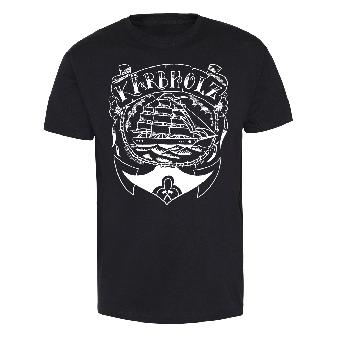 """Kärbholz """"Oldschool"""" T-Shirt (black)"""