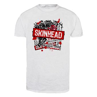 Skinhead vs. Presse T-Shirt (white)