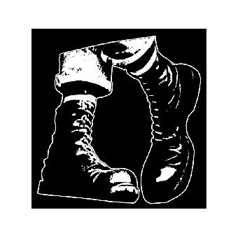 Boots (2) - Stoffaufnäher (Druck)