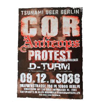 """C.O.R. """"Anticops"""" A1 Poster"""