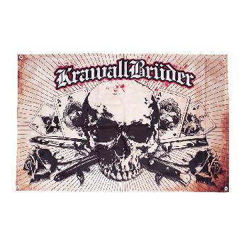 """Krawallbrüder """"BSUKT"""" Fahne / flag"""