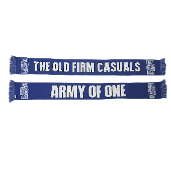 "Old Firm Casuals ""Army of one"" Schal / scarf"