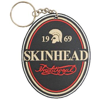 Skinhead Traditional (Kunststoff) - Schlüsselanhänger / Keychain