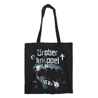 "Grober Knüppel ""Angepisster deutscher Albtraum"" Cotton Bag"