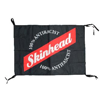 """Skinhead """"100 % Antiracist"""" flag"""