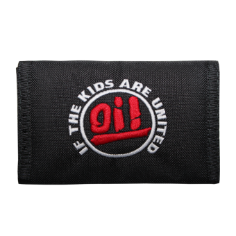 """Geldbörse / Wallet """"Oi! If the Kids are united"""" (schwarz)"""