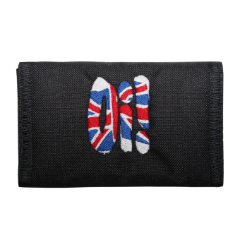 """Geldbörse / Wallet """"Oi! Union Jack"""" (schwarz)"""