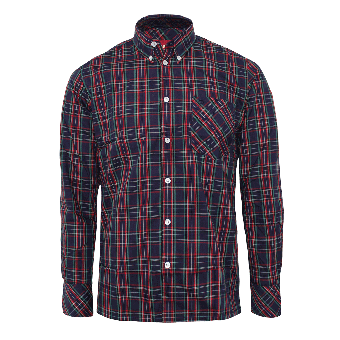 "Merc Button Down Hemd  ""Neddy"" (lang) (Steward Red) (reduziert)"