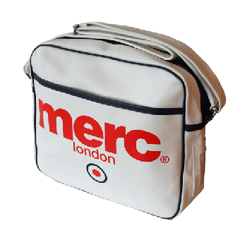 "Merc ""Airline""  Tasche / Bag (white)"