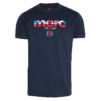 "Merc ""Broadwell"" T-Shirt (navy)"