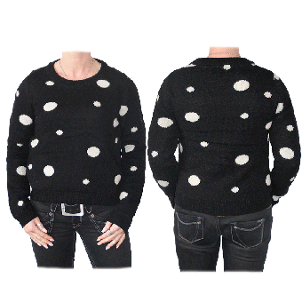 "Merc ""Edgar"" Girl Pullover (wool) (black) (reduziert)"