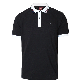 "Merc ""Nova"" Polo (black)"