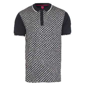 "Merc ""Woking"" Polo (checkboard black)"