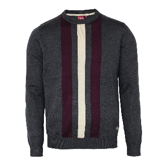 """Merc """"Seaham"""" Pullover (charcoal)"""