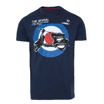 "Merc ""Costello"" T-Shirt (navy)"