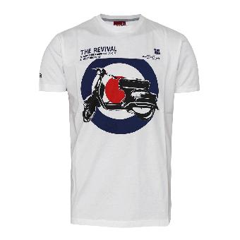 """Merc """"Costello"""" T-Shirt (weiss)"""