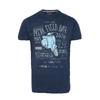 "Merc ""Herman"" T-Shirt (navy)"