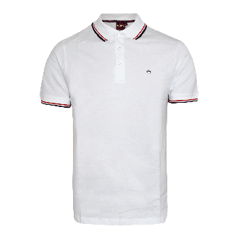 "Merc ""Card"" Polo (white)"