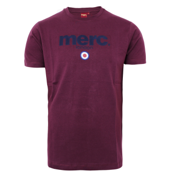 Merc Brighton T Shirt Wine Order Online Spirit Of