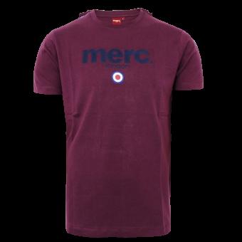 """Merc """"Brighton"""" T-Shirt (wine)"""