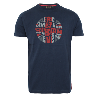 "Merc ""Saxby"" T-Shirt (navy)"