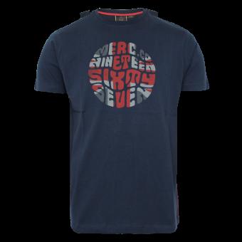"Merc ""Saxby"" T-Shirt (navy)"